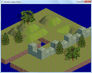 Isometric Elevations Layers